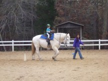 Belle in the arena