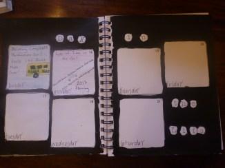 This weeks journal