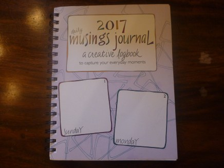 A terrific journal to remember your days!