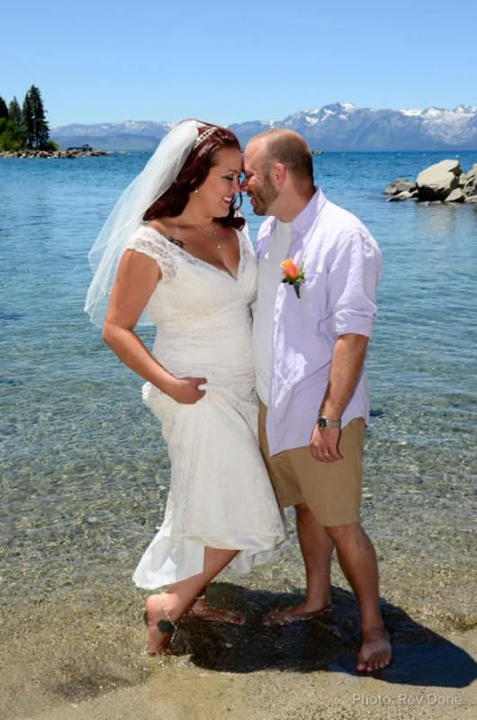 Wedding Couple in Lake Tahoe