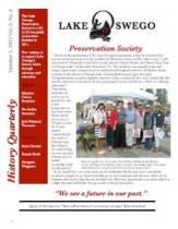 Lake Oswego Newsletter Vol 3, No 4