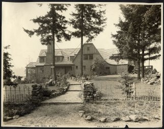 Ertz House (Demolished) - 1650 North Shore Road