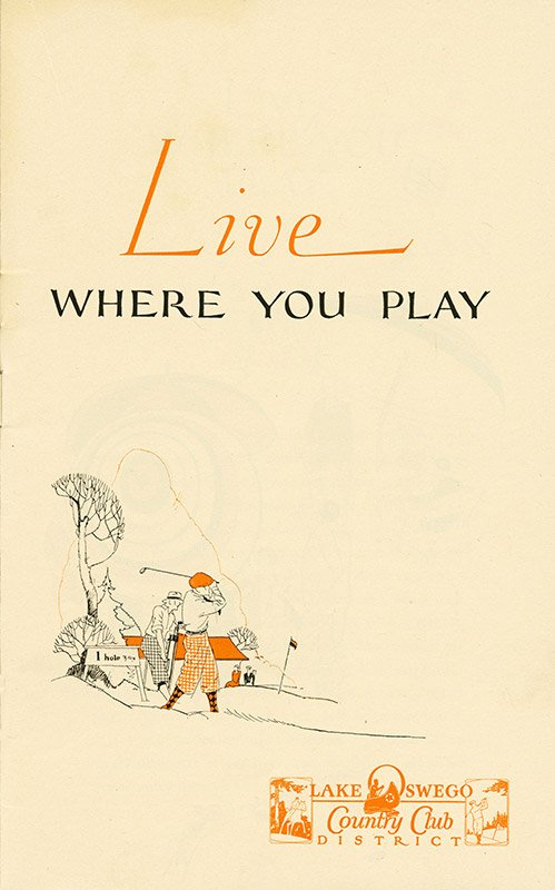 Live Where You Play brochure cover