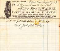 Oregon Iron Co. receipt for cedar purchased from Jno. P. Walker May 31, 1867