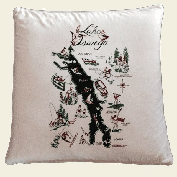 Lake Oswego Pillow