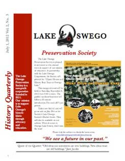 Lake Oswego News Vol 2, No. 3