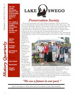 Lake Oswego Newsletter Vol 3, No 4