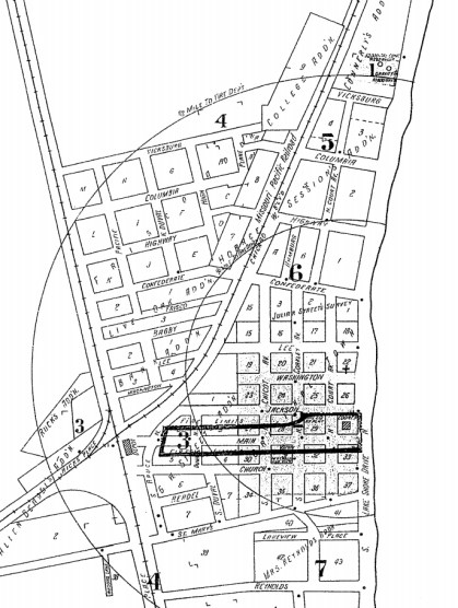 Sheet 1 of 1928 Sanborn Map