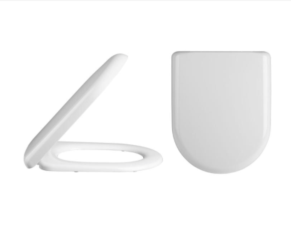 Standard D-Shaped Soft Close Toilet Seat