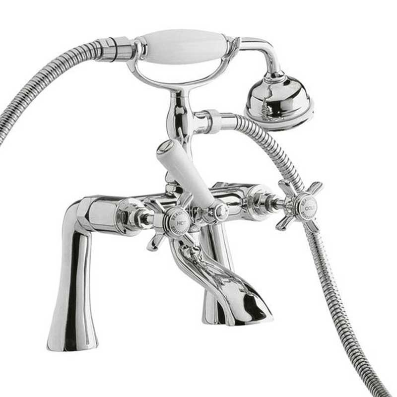 "Beaumont Traditional 3/4"" Bath Shower Mixer"
