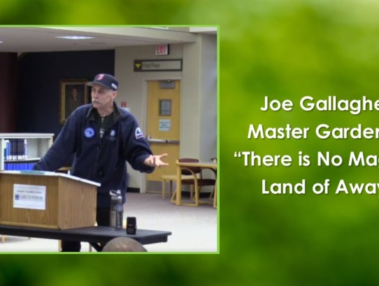 University Colloquium: Joe Gallagher - There is No Magical Land of Away