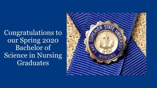 Spring 2020 School of Nursing Pinning