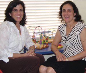 Dr. Yanina Abaunza-Fiallos, left and Dr. Luisa Gomez McElroy are board certified pediatricians practicing at Dr. Nina's Pediatrics in Lutz.
