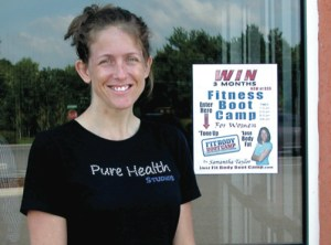 Samantha Taylor recently opened Fit Body Boot Camp in Land O' Lakes.