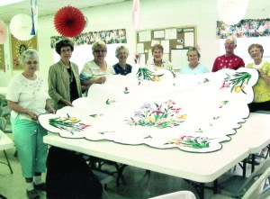 Quilters take care of unfinished business The Leisure Days Quilters finished this quilt started by Gertrude Dupuis before she passed away under hospice care. The quilt is now being awarded in a drawing with all proceeds benefiting Gulfside Regional Hospice.(Courtesy of Regional Gulfside Hospice)