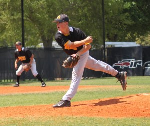 Freshman Danny Rodriguez, a Steinbrenner High School graduate, threw Pasco-Hernando State College's first no-hitter in the 23-year history of the baseball program. (Courtesy of Steve Winterling)