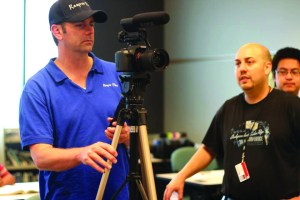 Land O' Lakes filmmaker Christopher Leto shot his independent film 'Die Die Delta Phi' in Pasco County, but his first larger-budget film, 'The Ritual,' moved to Sarasota County because of the financial incentives in place there. (Courtesy of Chris Leto)