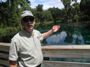 Kent Koptiuch is one of more than 11 natural resource managers Nestle Waters North America has hired to help maintain good water quality nationwide, while protecting natural resources like Crystal Springs just outside of Zephyrhills. (Michael Hinman/Staff Photo)
