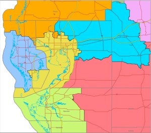 Congressional districts in the Tampa Bay area will likely remain unchanged if a proposed redistricting map is approved.