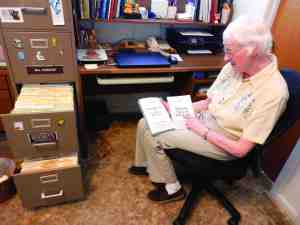 Dede Hammond has filing cabinets full of stories, but many of them can now be found in her books, including 'Open the Door to One Short Story After Another,' which came out last December. (Michael Murillo/Staff Photo)