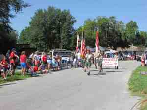 Boy Scout Troop 12 has been a mainstay at the Lutz Fourth of July parades for decades.