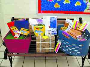 Efforts are underway to help students who need supplies for the coming school year. (File Art)
