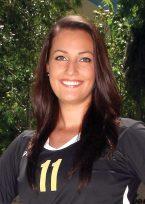 Melina Staengle earned NJCAA Defensive Player of the Week last season and logged more than 300 kills.