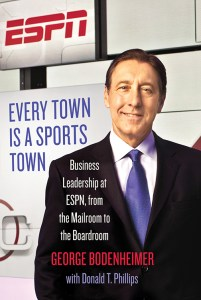 George Bodenheimer, longtime president of ESPN and now its executive chairman, will speak and sign books on Nov. 18 at Carrollwood Day School. He donates all author royalties to the V Foundation. (Image Courtesy of V Foundation for Cancer Research)