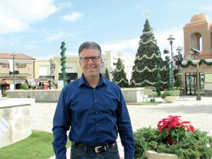 Greg Lenners, general manager at The Shops at Wiregrass, said the shopping mall expects to benefit from the nearby location of Tampa Premium Outlets. The outlet center will bring more people into the area, and some will likely visit his mall, he said. (B.C. Manion/Staff Photo)