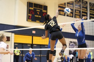 Danielle Christian and the Lady Quistas flew past their regional tournament competition without dropping a set to earn another berth in the NJCAA Division II national tournament. They would go 1-2 at the tournament to finish 11th. (Courtesy of Pasco-Hernando State College)