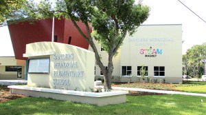 Sanders Memorial Elementary School is Pasco County's first magnet school. It offers a curriculum that focuses on science, technology, engineering, the arts and mathematics. The district is converting Centennial Middle School in Dade City into a science, technology, engineering and mathematics magnet school. (File Photo)