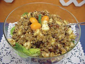 Bulgur Kumquat Salad - Barbara Beavers