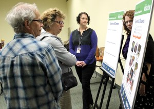 The Hillsborough County Public Library Cooperative had an open house session at the Upper Tampa Bay Regional Public Library on Jan. 19. Approximately 45 residents attended to provide feedback on the county's library system. (Courtesy of Hillsborough County Public Library)
