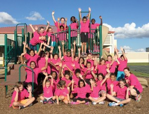 The Watergrass Elementary Owls Run Club is for fourth grade and fifth grade girls. They meet every Thursday afternoon and are preparing for a 5K race in March. (Photos courtesy of Watergrass Elementary)