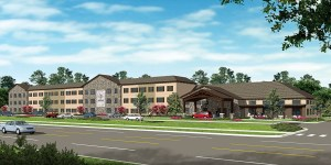 Once it is complete, the assisted living center should look similar to this prototype. The senior living center is set to open in August 2016.