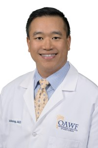 Dr. David Cheong is an orthopaedic oncologist with Orthopaedic Associates of West Florida in Clearwater. He removed tumors in Thomas Casey's arms and inserted two 10 ½-inch plates to provide both mechanical and rotational stability for his upper arms. (Courtesy of Ashley Pontius)