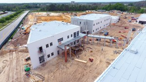 Construction is ongoing at Wiregrass Elementary School. The new elementary school is slated to open with about 400 students.