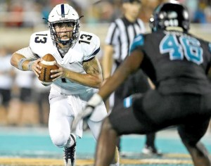 Former Wiregrass Ranch football standout Shane Bucenell is the starting quarterback at Charleston Southern University in South Carolina.  (Courtesy of Charleston Southern University)