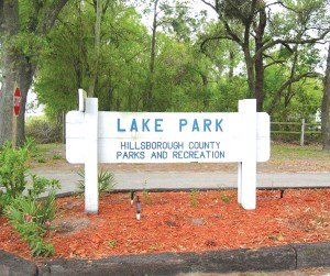 Lake Park reopened on Oct. 8. It had been closed since last December after a sinkhole formed. (File Photo)