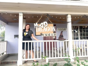 Sarah Hamilton is the owner of the Mad Dragon Studio, 5226 Eighth St., in Zephyrhills. (Kevin Weiss/Staff Photo)