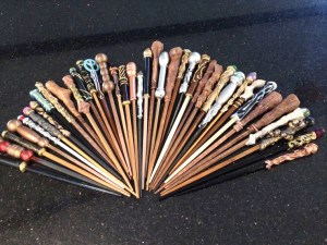 Sarah Hamilton uses a mix of polymer clay to craft each wand by hand. They range in price from $5 to $125. (Photos courtesy of Sarah Hamilton)