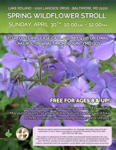 Spring Wildflower Walk 2017 @ Lake Roland | Baltimore | Maryland | United States