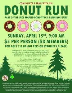 Donut Run April 2018