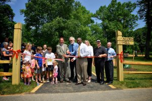 Acorn Hill Ribbon Cutting