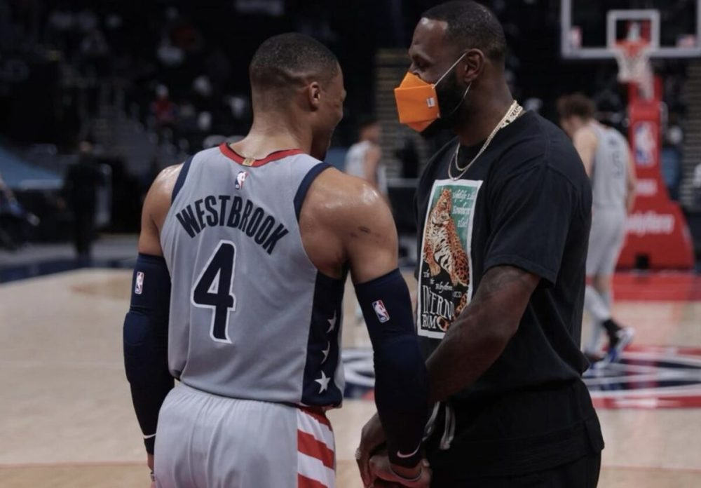 LeBron James sends strong message to haters about his and Russell Westbrook's legacies after Lakers game vs. Wizards - Lakers Daily