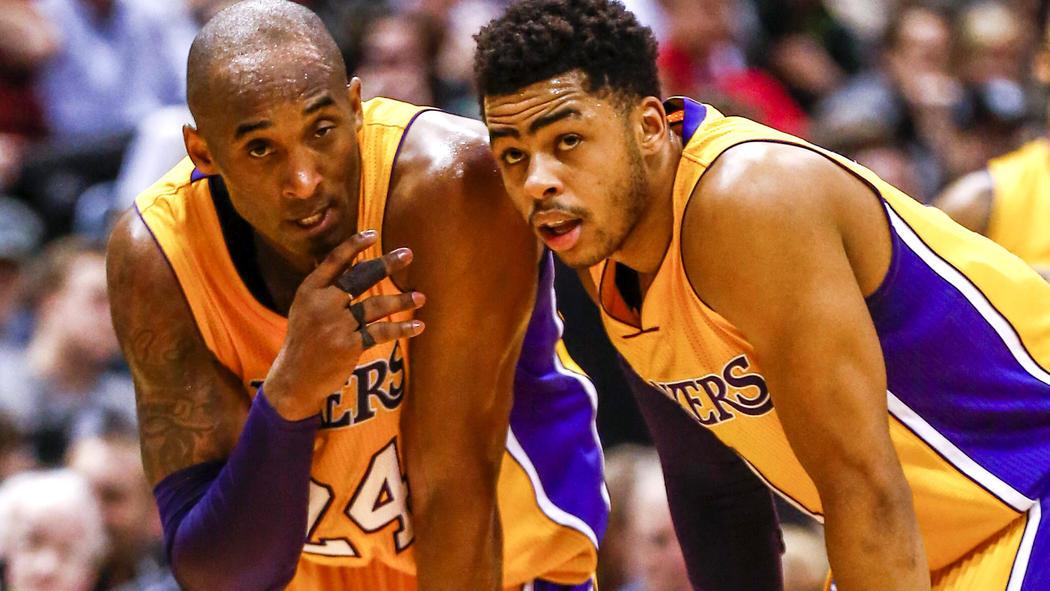 ae6b0e2c64d Kobe Bryant praises D Angelo Russell