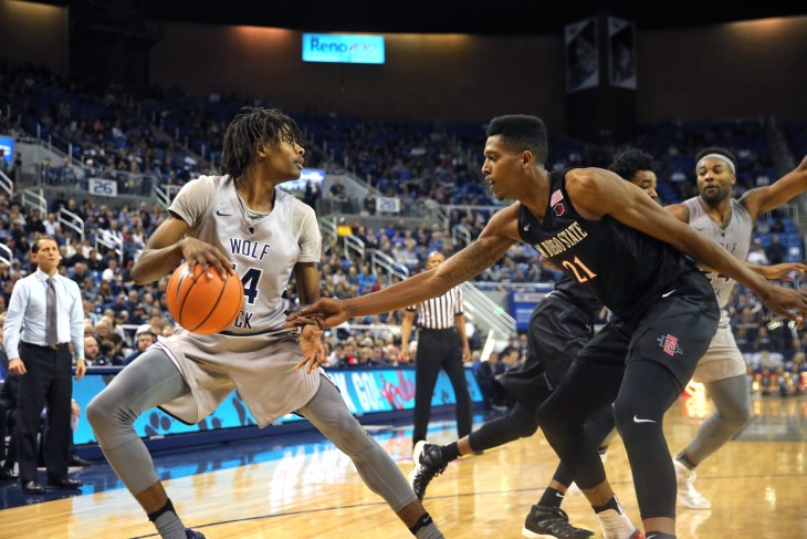 NCAA Basketball: San Diego State at Nevada