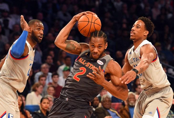 NBA: All Star Game-Eastern at Western