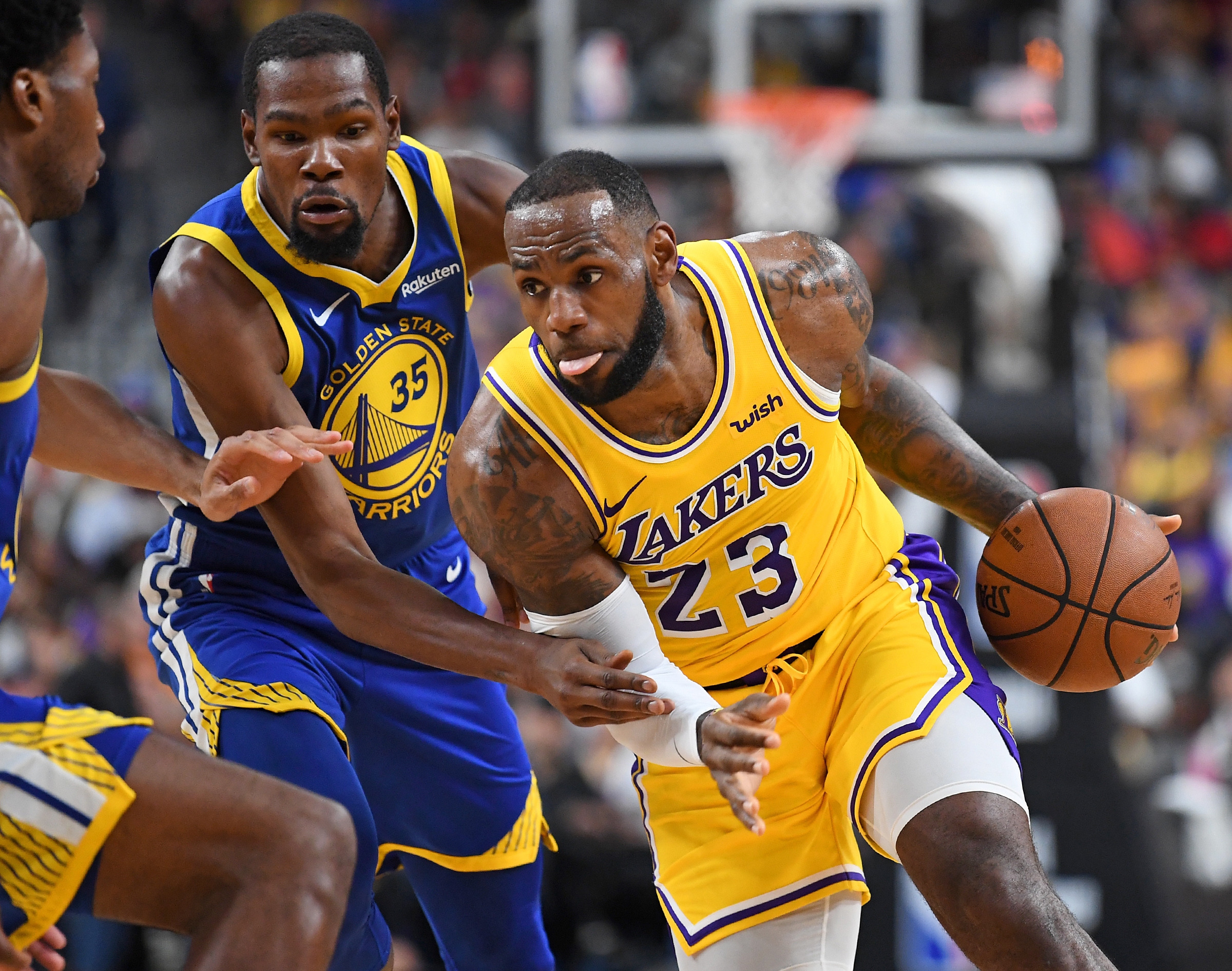 277b5cb1c76 LeBron James on Lakers  free agency plan