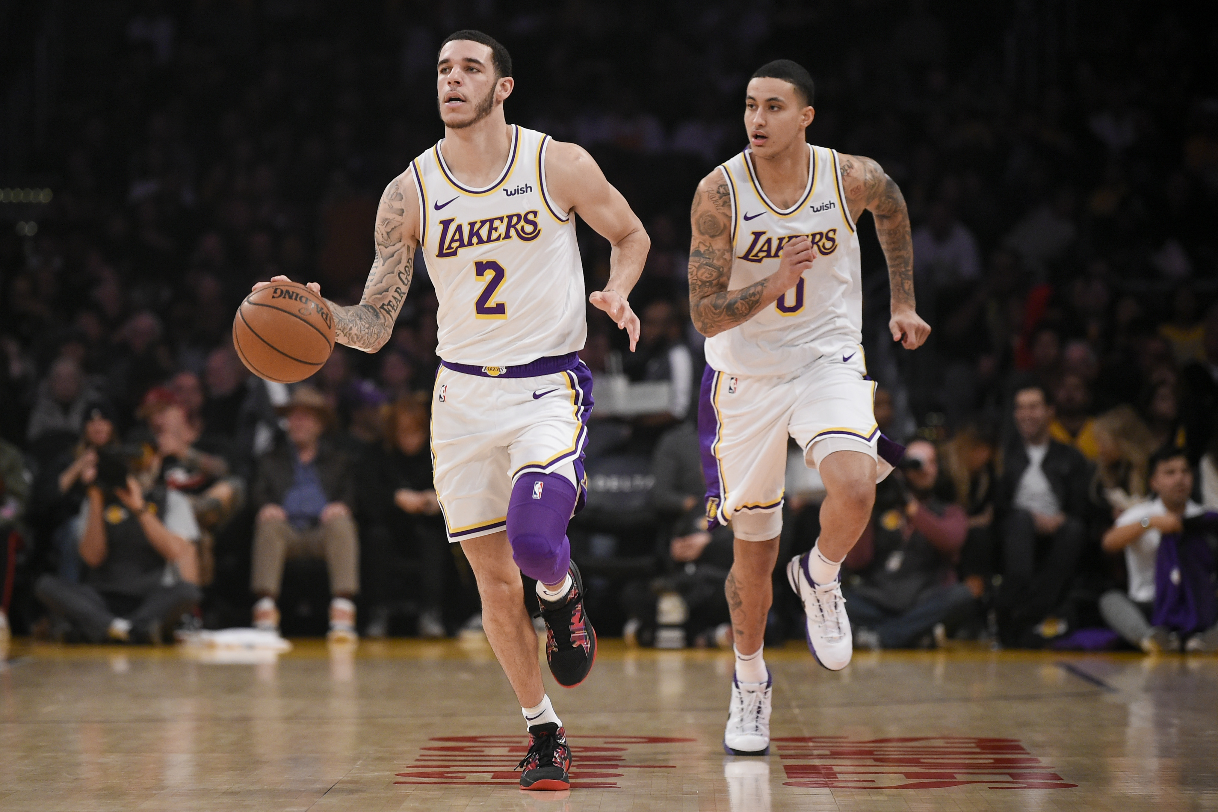cc1764f85921 Lonzo Ball hints at potential endorsement deal with Nike on social ...